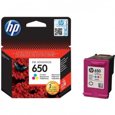 HP INKJET NO650 CZ102AE C-M-Y 200 ΣΕΛΙΔΕΣ