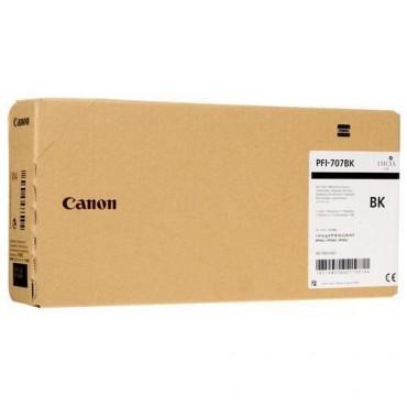 CANON INK TANK PIGMENT PFI-707BK BLACK 9821B001 700 ML