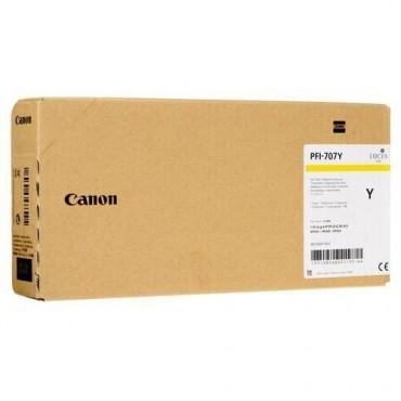 CANON INK TANK PIGMENT PFI-707Y YELLOW 9824B001 700 ML